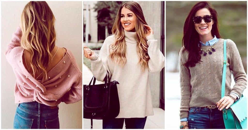 Estilos de suéteres que debes tener en tu guardarropa