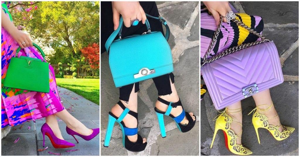 Bolsos de colores vivos para estar a la moda esta primavera
