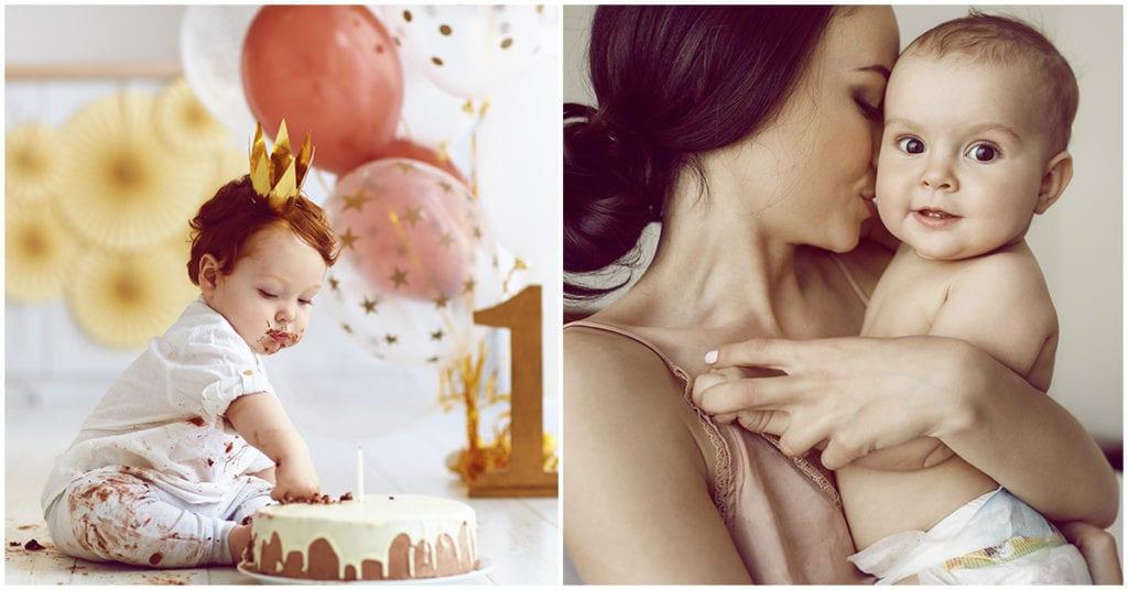 My baby's birthday, but my celebration