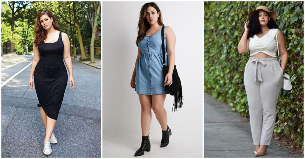 Curvy: outfits ideales para la primavera