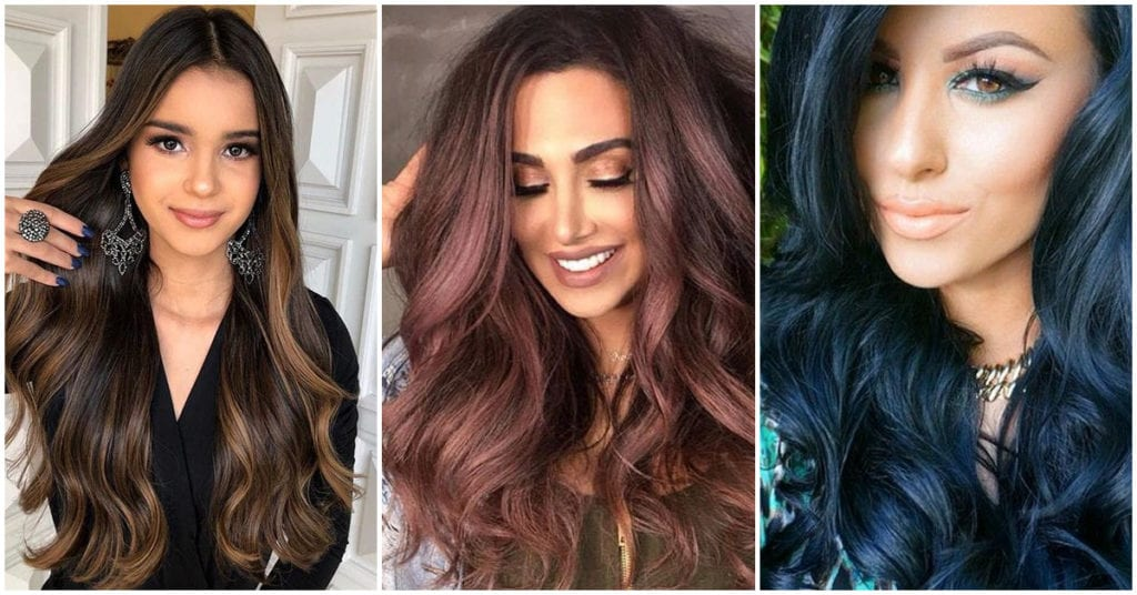 Tintes de cabello 2019 para chicas morenas