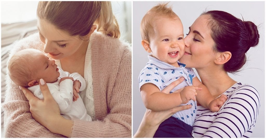 La importancia de las caricias y los apapachos para tu bebé