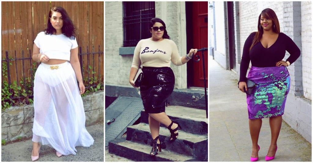 Faldas que debes evitar cuando eres chaparrita y gordita