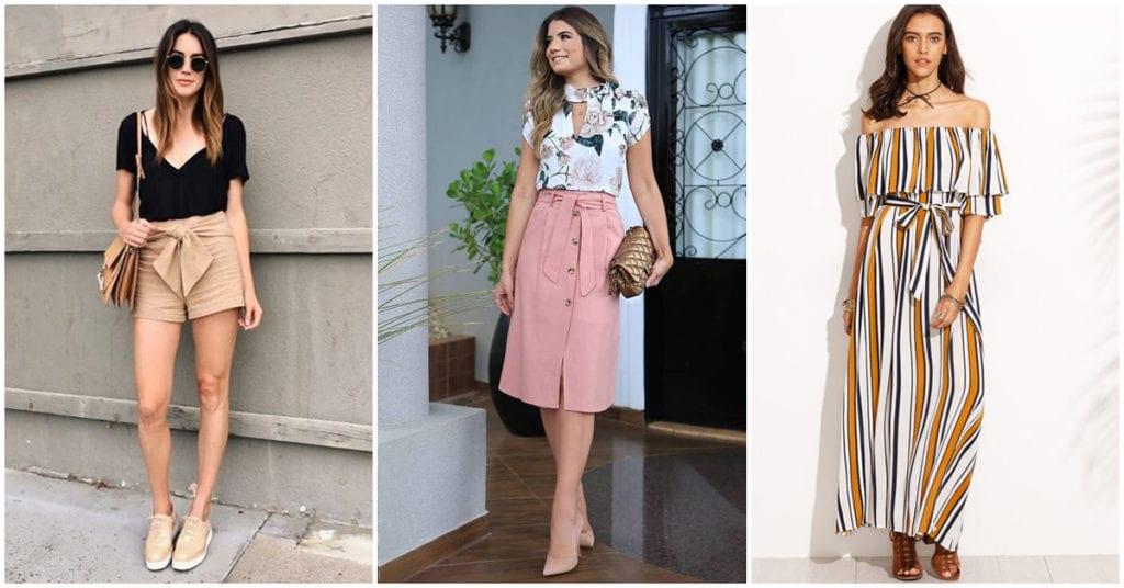 Outfits para ser la chica más guapa en la oficina en época de calor