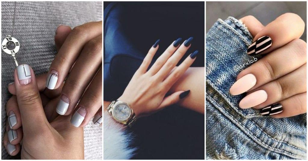 Diseños elegantes de uñas para chicas sofisticadas