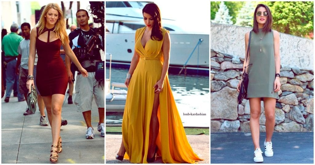Colores de vestidos que puedes usar en lugar de negro