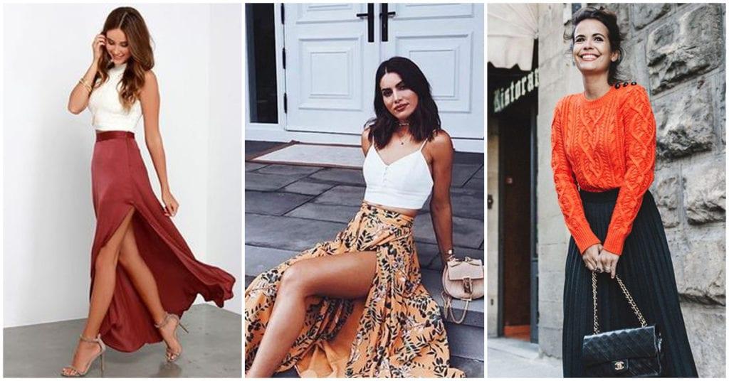 Maxifaldas: cómo llevarlas a la moda esta temporada