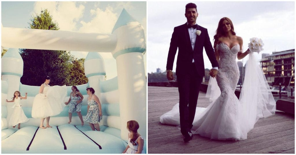 Castillos inflables el día de tu boda, ¡sí que sí!