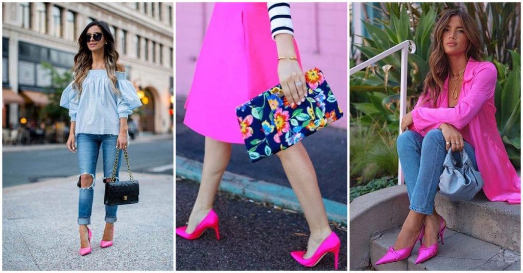 Tacones rosas: ¿cómo los uso para lucir femenina?