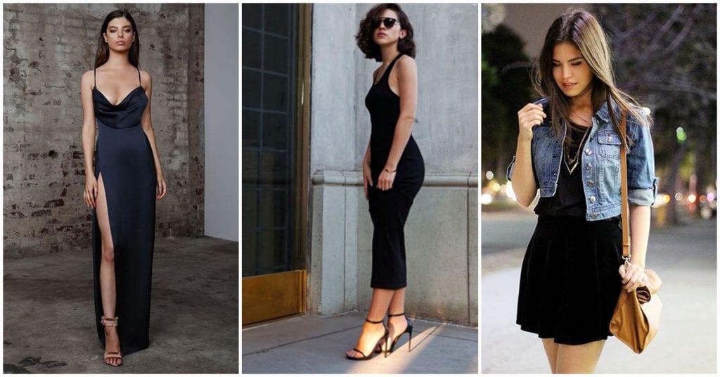 Vestidos negros: cómo lucir sexy sin morir en el intento