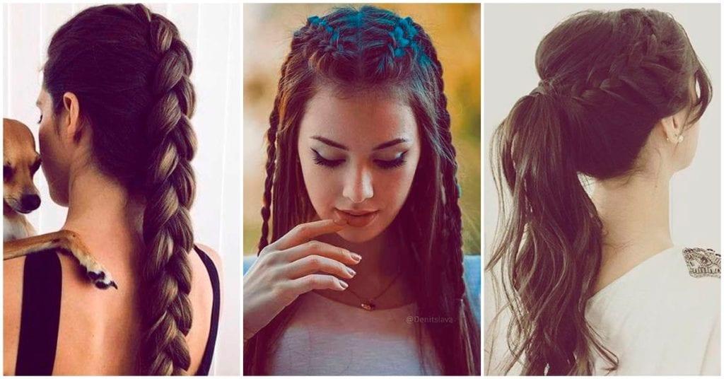 6 peinados con trenzas que te van a encantar