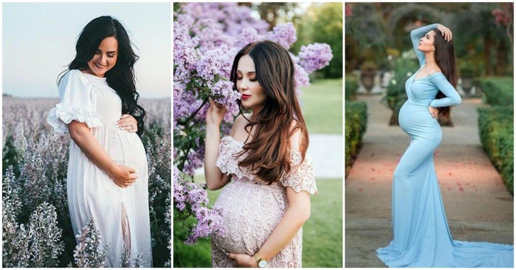 Vestidos de novia para chicas embarazadas