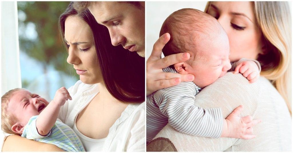 Dejar llorar a tu bebé hasta que se canse, ¿bueno o malo?