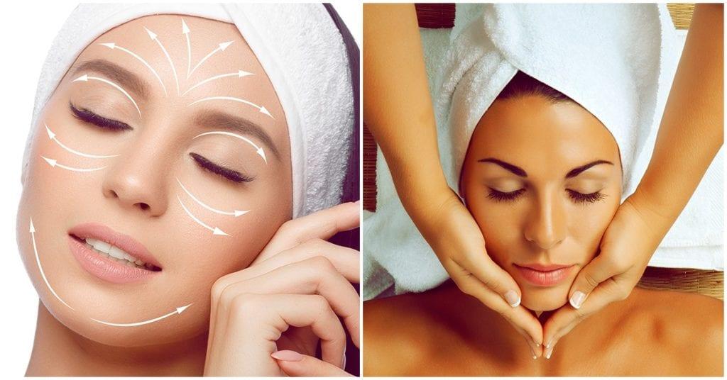 Masajes faciales que puedes hacer para desinflamar tu rostro