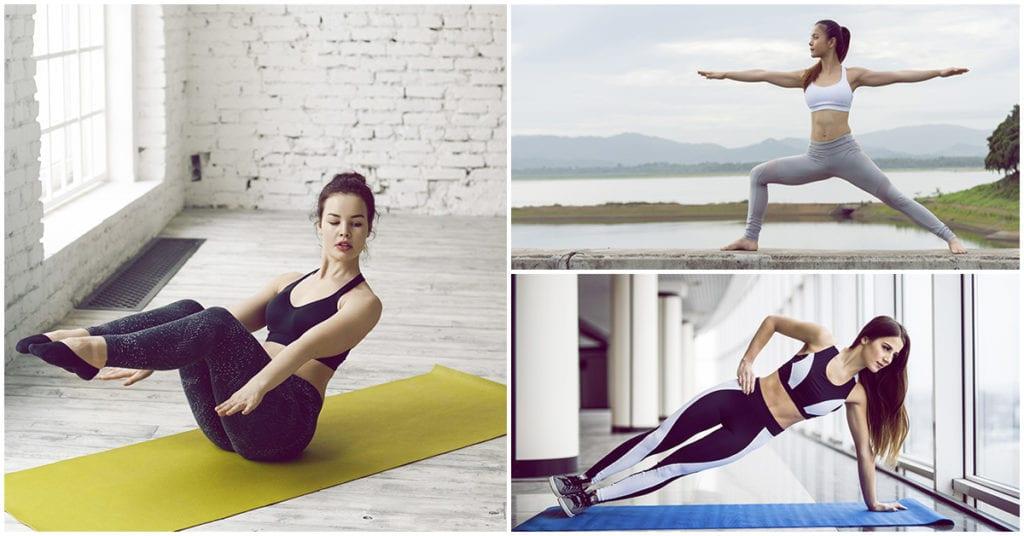 Las mejores posiciones de yoga para tener un abdomen plano