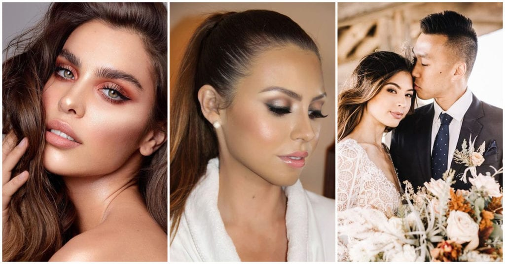 Opciones hermosas de makeup para las chicas que se casan en la playa