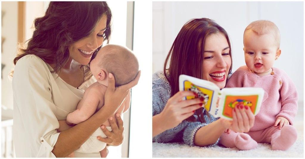 La amistad durante la maternidad