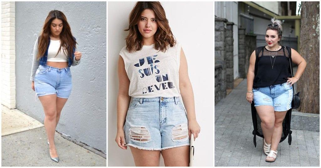 Errores que cometen las chicas curvy al usar shorts
