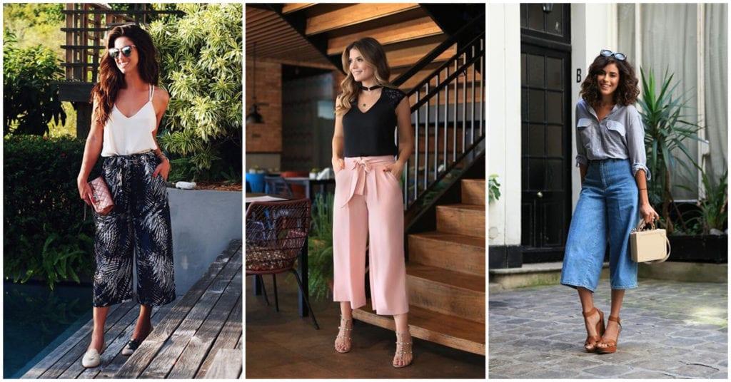 Culottes: cómo llevarlos con mucho estilo