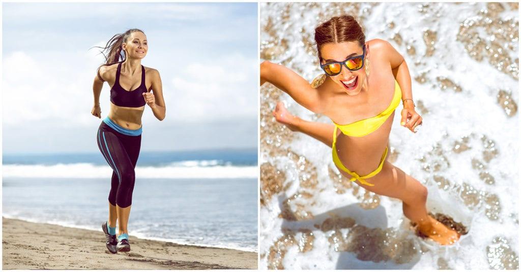 Consejos para correr por la playa este verano si vas de viaje