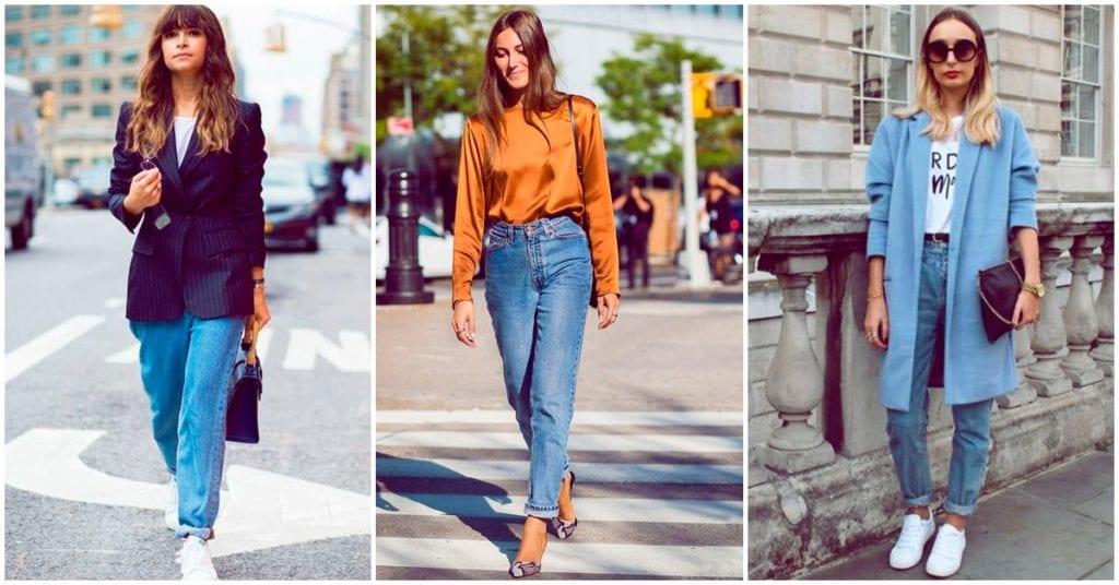 Formas de llevar mom jeans sin perder el estilo