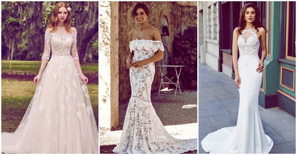 Con estos vestidos de novia no sabrás cuál elegir para ESE día especial
