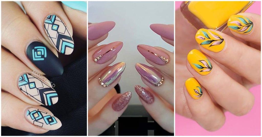 Diseños de uñas para chicas super femeninas; ¡me encantan!