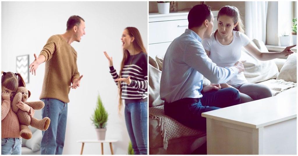 Las causas más comunes por las que peleamos con nuestro esposo
