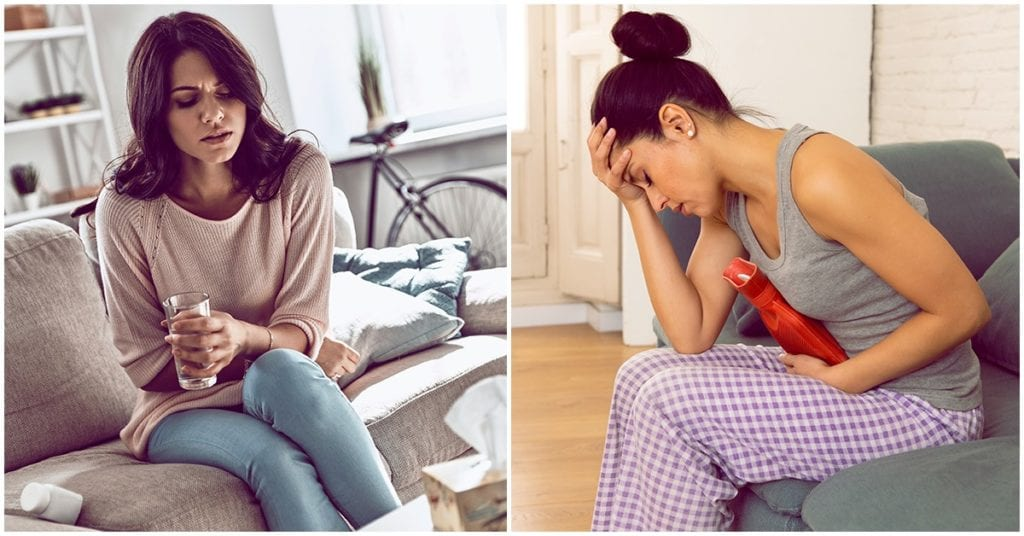 Calambres menstruales: un dolor común entre las mujeres