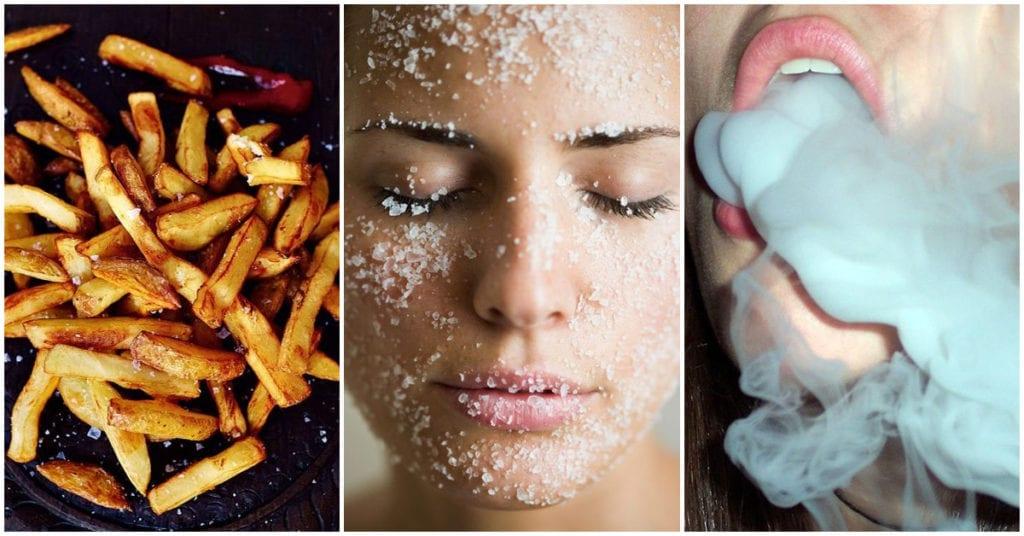Estos son los alimentos que están envejeciendo tu piel, ¡upsss!