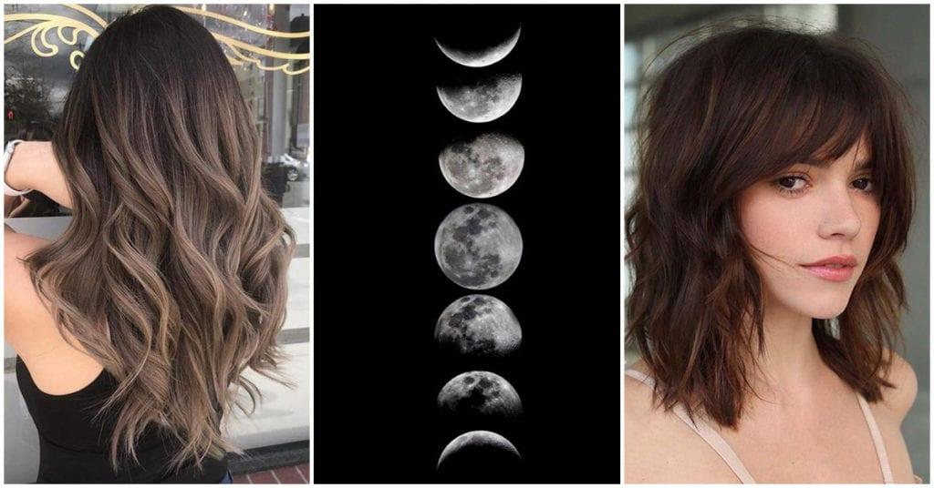 Cortar tu cabello siguiendo las fases de la luna para que crezca más ¿funciona?
