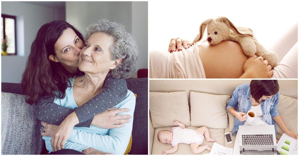Escogí ser madre a los 40 y para mí ha sido maravilloso