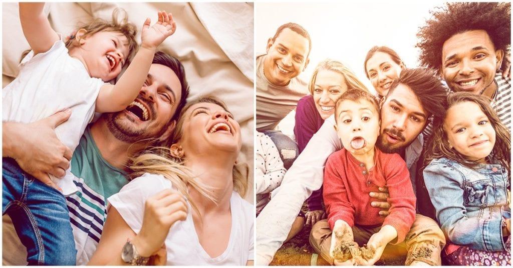 Formas en las que tu familia te hace feliz todos los días