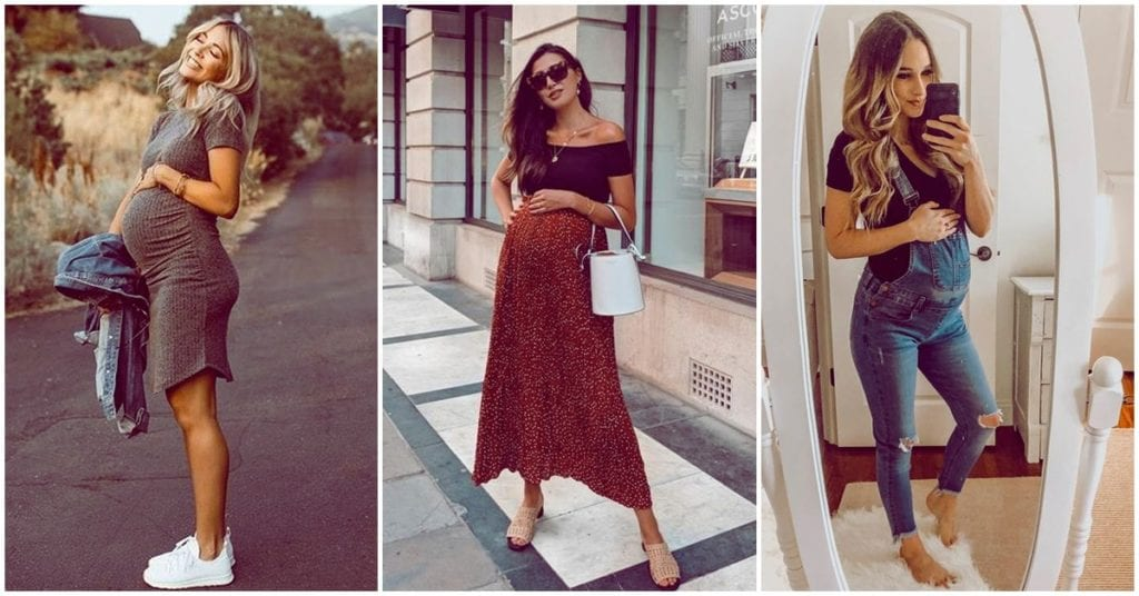 Tips for a stylish pregnancy without maternity clothes