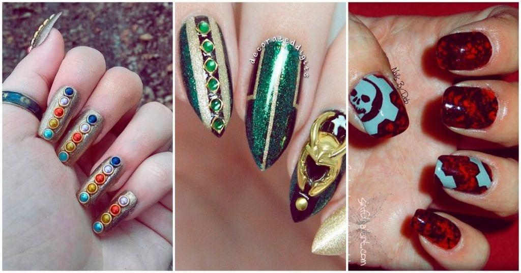 Los mejores diseños de uñas para las chicas geek