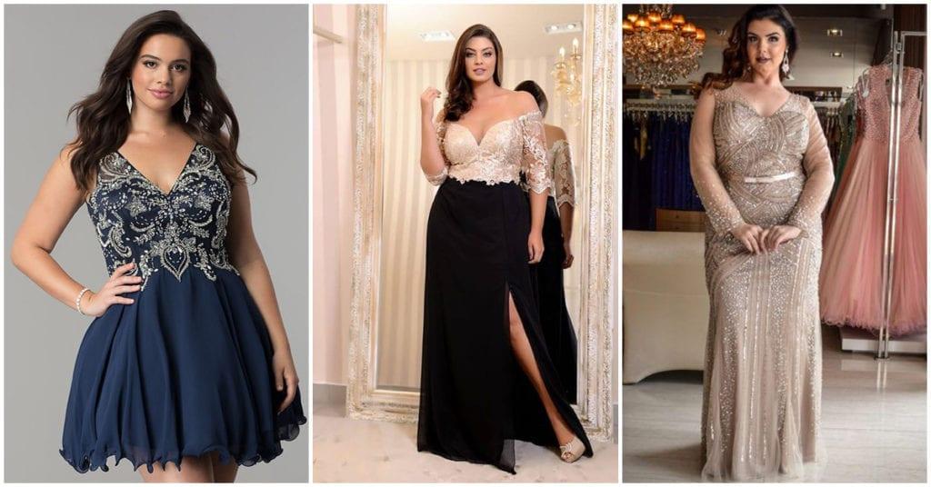 Cómo escoger un vestido de fiesta si eres curvy