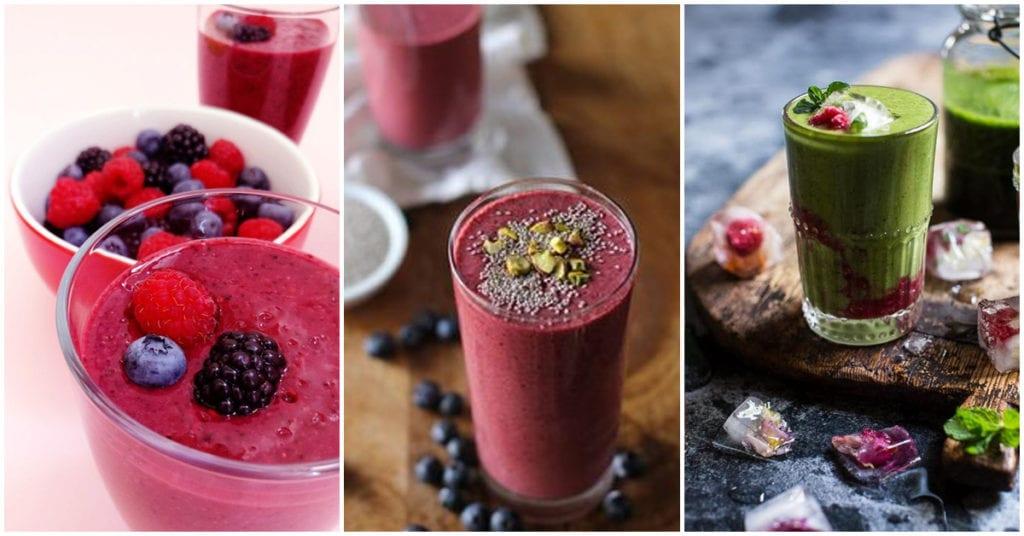 Retrasa el envejecimiento desayunando estos smoothies cada vez que puedas