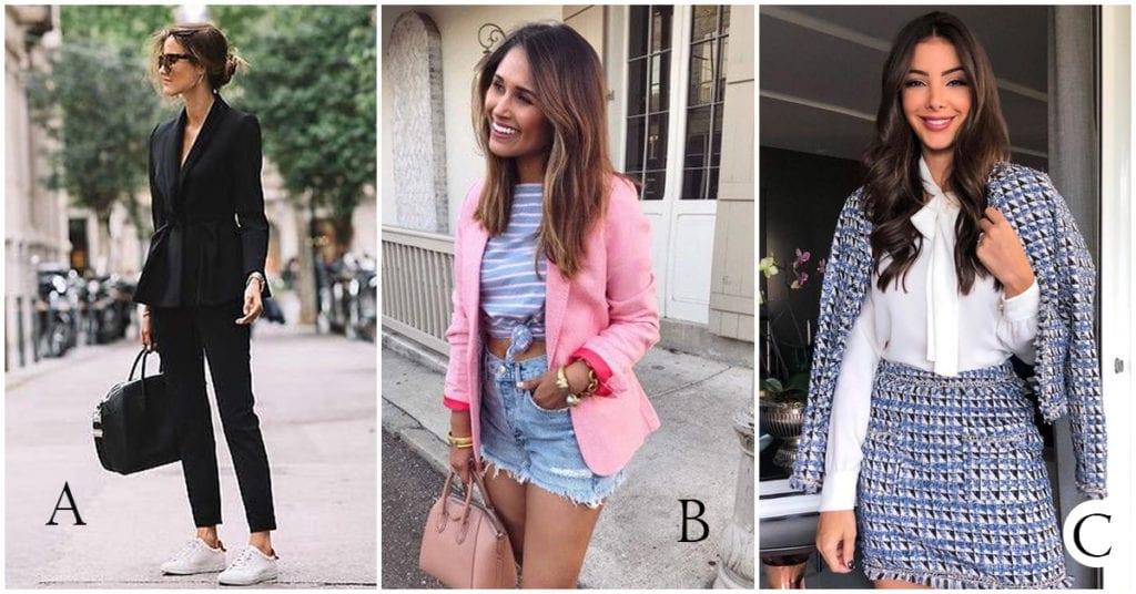 Diferentes tipos de saco, ¿cuál va contigo?