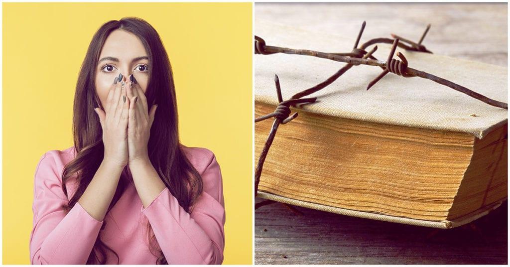 Estos son algunos de los libros que están prohibidos en el mundo