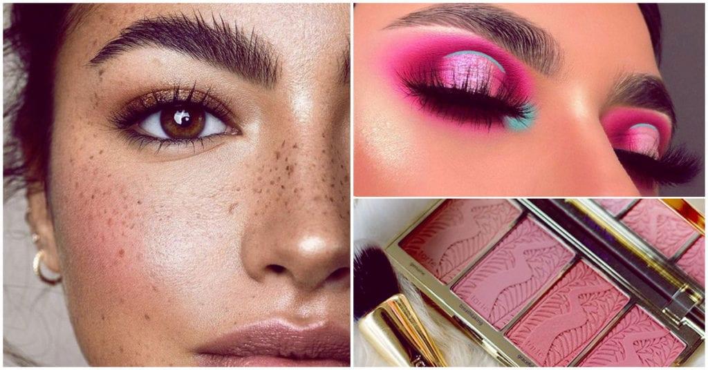 Como usar el rosa en tu makeup toda la semana para verte muy sexy