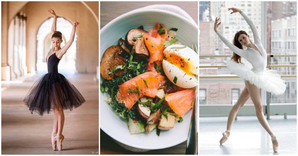 Esto es lo que come una bailarina de ballet profesional para conservar su figura