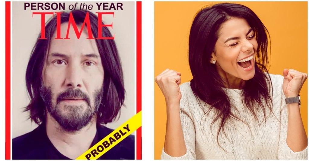 """Keanu Reeves postulado para ser """"la persona del año"""""""