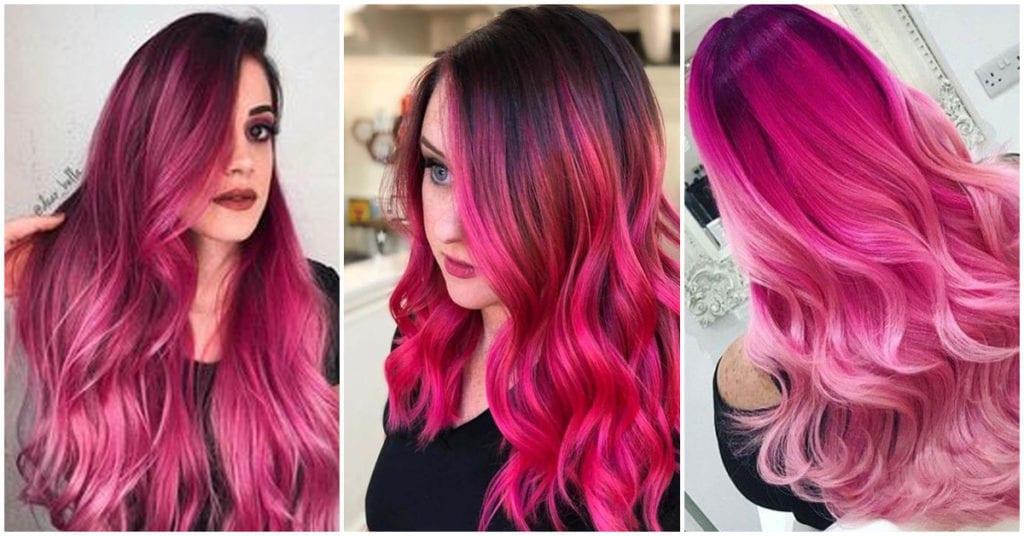 Adiós, rose gold; hola, bold pink: ¡la nueva tendencia en tinte para las chicas rudas!
