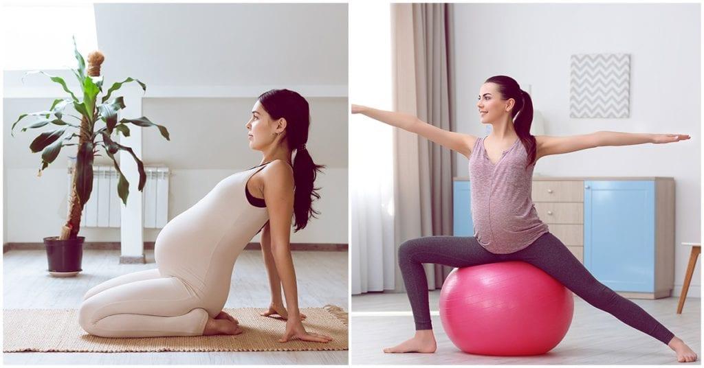 Ejercicios para tener un parto sin dolor