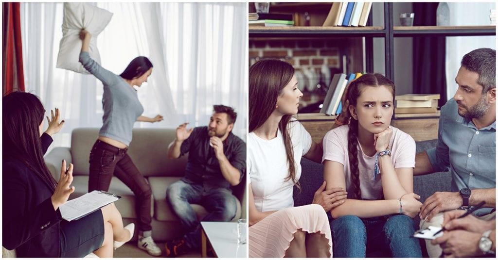 Cómo lidiar con una familia llena de metiches