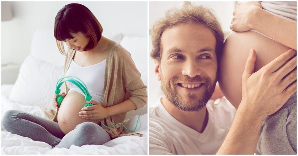 Cómo practicar la estimulación prenatal para tener un embarazo sano
