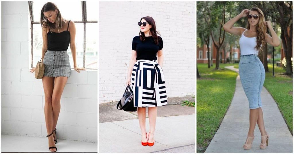 Estos son los zapatos que van de acuerdo al largo de tu falda