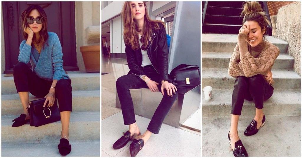 Cómo usar tus slippers y ser una diosa de la moda