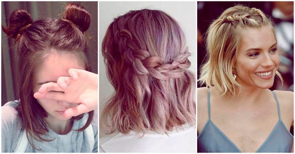 Peinados para chicas con cabello corto que te van a encantar