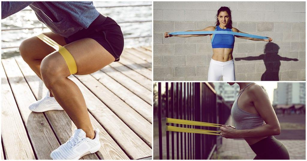 Bandas de resistencia: lo mejor para hacer ejercicio en casa